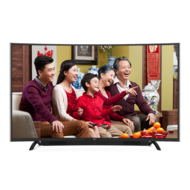 TCL48英寸双系统曲面电视