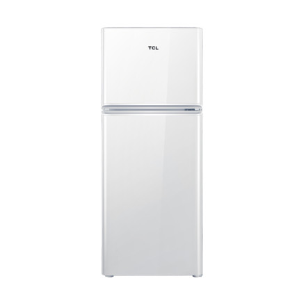 TCL118L小双门节能家用冰箱
