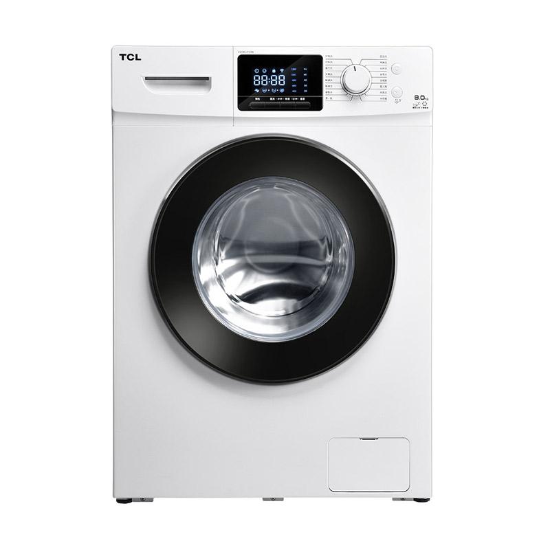 TCL9公斤超薄变频滚筒洗衣机