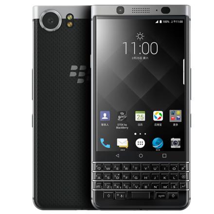 黑莓(BlackBerry)KEYone手机 银色