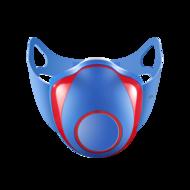 TCL电子口罩儿童版蓝红色
