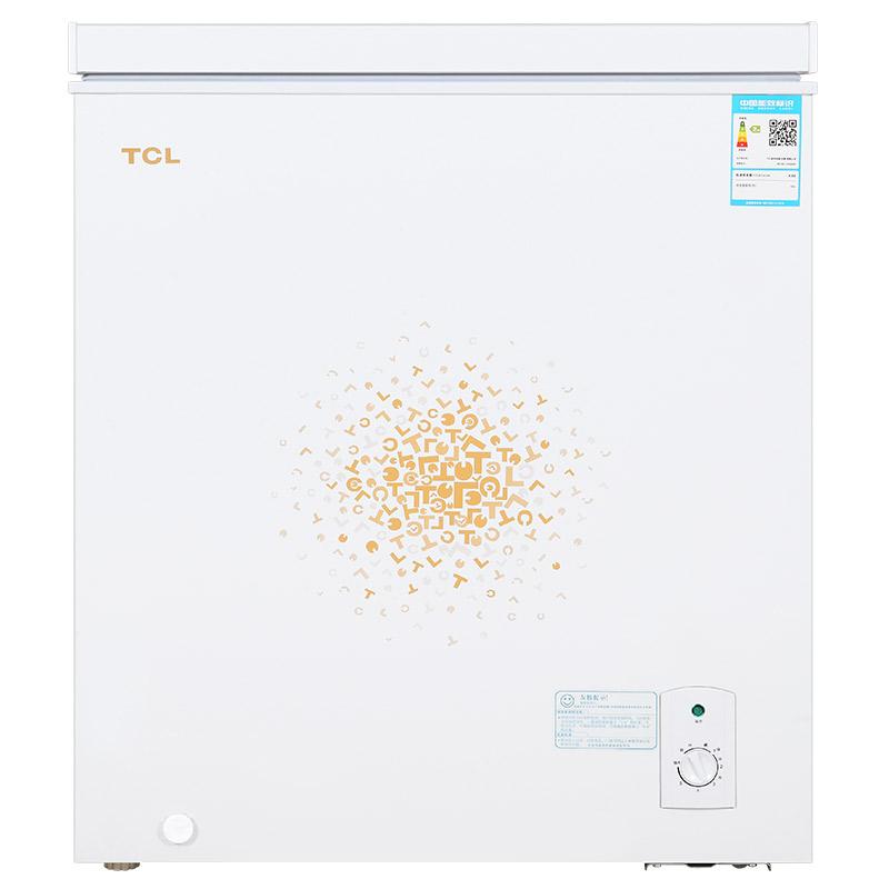 TCL156L家用迷你卧式冰柜冷柜