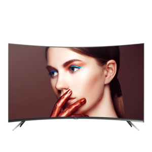 55V1M 55英寸超薄金属曲面电视