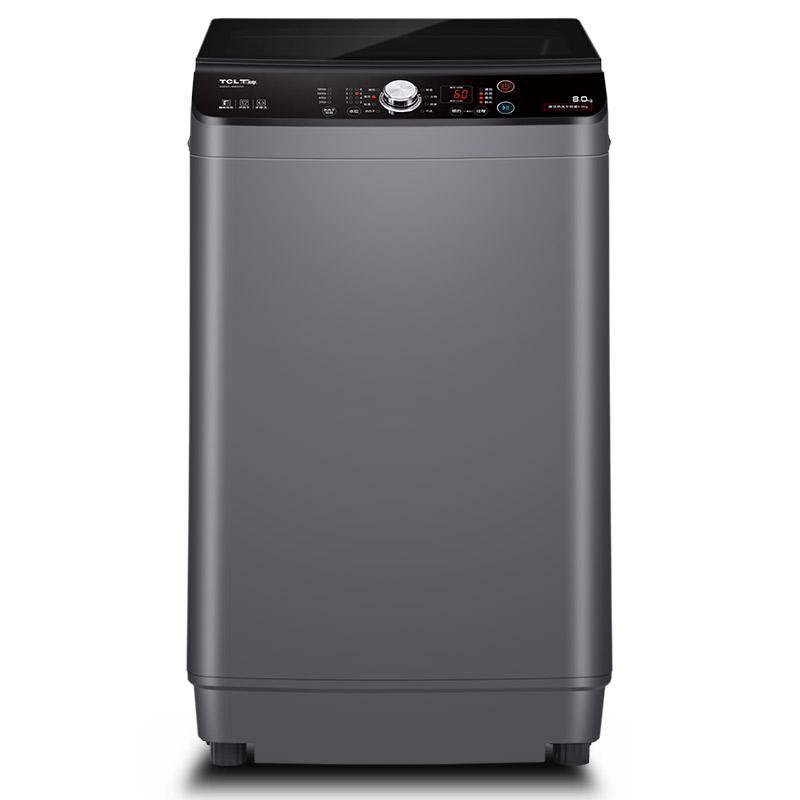 TCL8公斤熱風干全自動<span style='color:red'>波輪</span>洗衣機