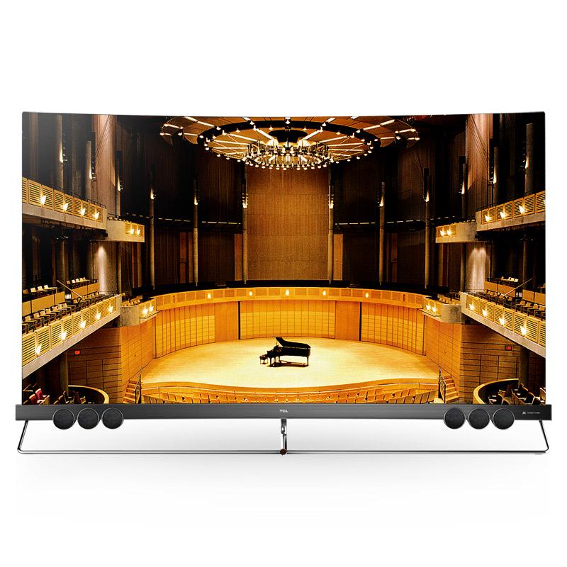 55X5 55英寸量子点全面屏曲面电视