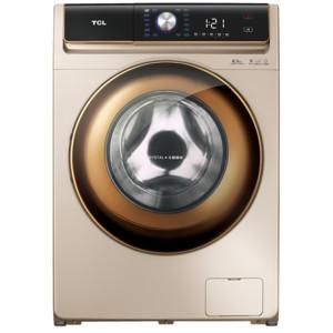 TCL8.5公斤免污变频洗烘滚筒洗衣机