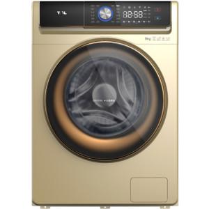TCL9公斤免污滚筒洗衣机