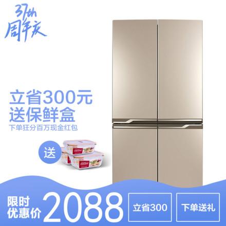 TCL406L十字对开门冰箱