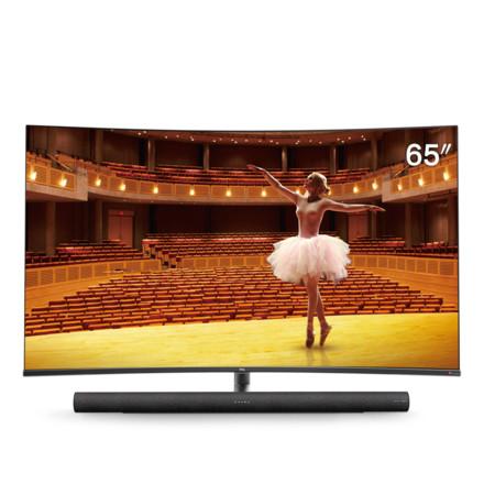 65C7 65英寸4K智能曲面电视