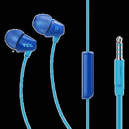 TCL SOCL100入耳式耳机 深海蓝