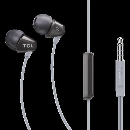 TCL SOCL100入耳式耳机 深空灰