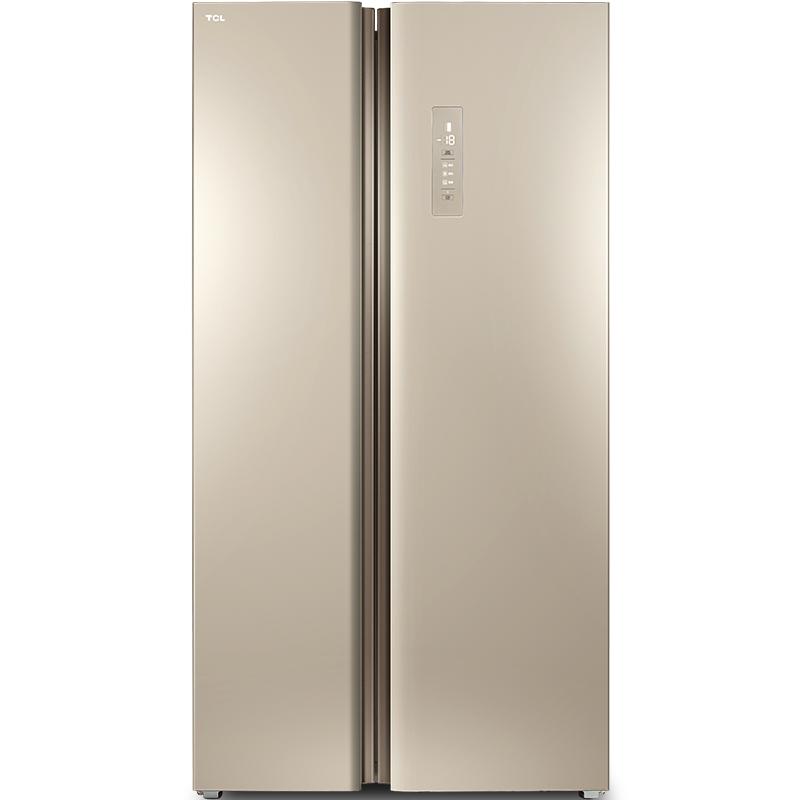 TCL499L对开门宽薄风冷冰箱