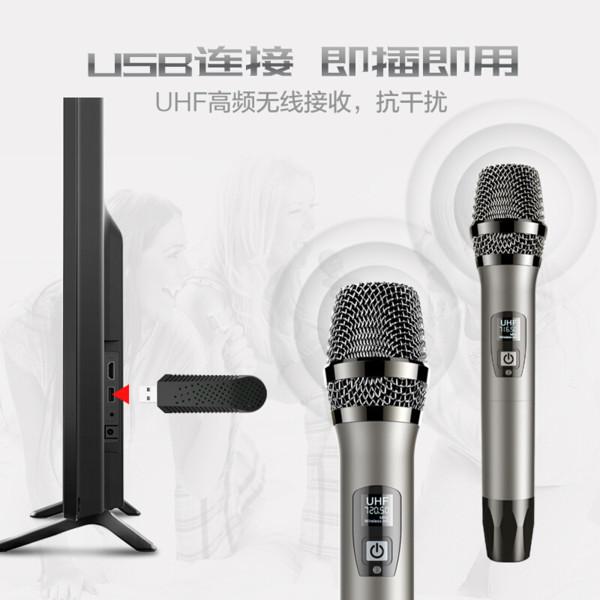 天籟K歌無線雙話筒麥克風MM-6