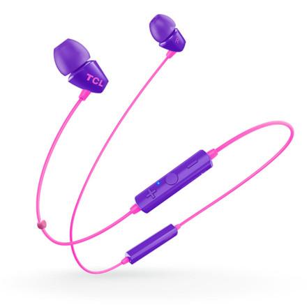 TCL SOCL100BT蓝牙耳机 丁香紫