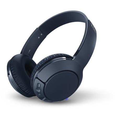 TCL MTRO200BT头戴式蓝牙耳机 宝石蓝