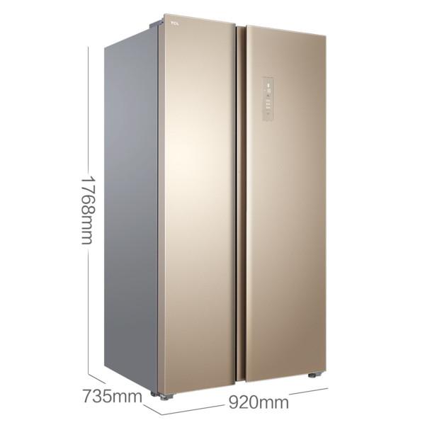 TCL650L風冷對開門冰箱