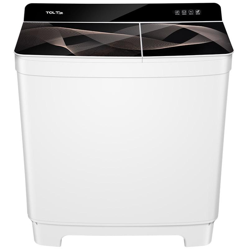 TCL10公斤双桶半自动洗衣机