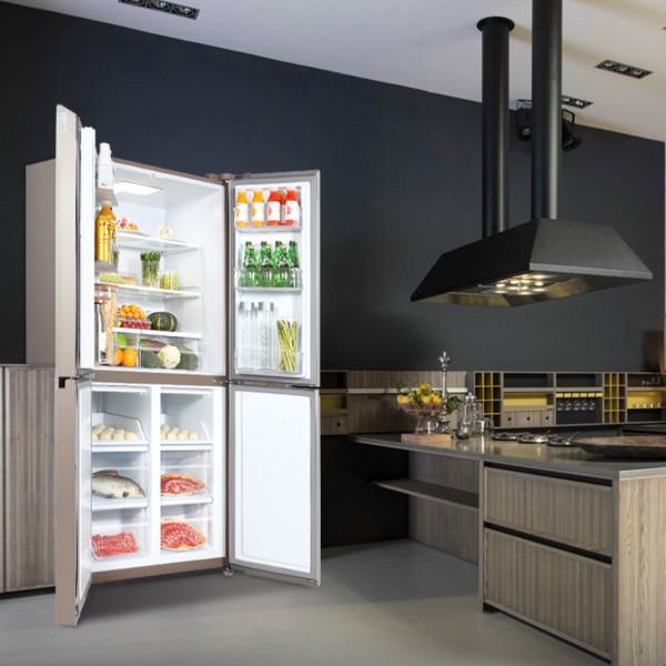 TCL456L對開門寬薄家用冰箱