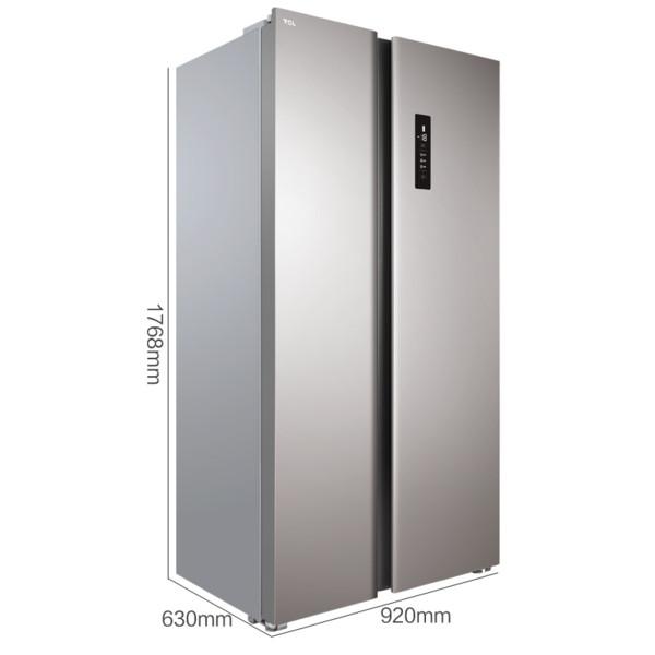 TCL519L對開門風冷無霜冰箱