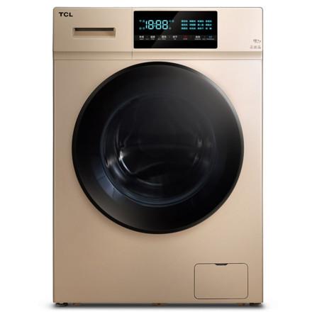 TCL10公斤洗烘一體全自動滾筒洗衣機